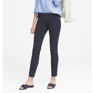 BANANA REPUBLIC 00P SLOAN SKINNY FIT ANKLE PANT